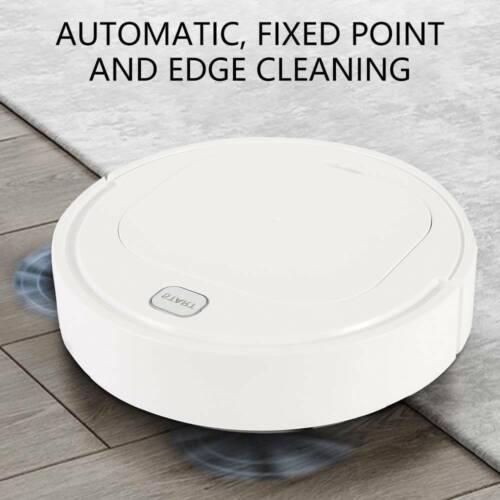 3IN1 Rechargeable Smart Robot Vacuum Cleaner Auto Sweeper Floor Clean Machine UK