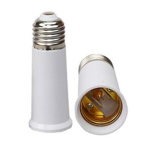 E27 to E27 95mm Extend Socket Base Holder Light Bulb Lamp Cap Adapter Converter