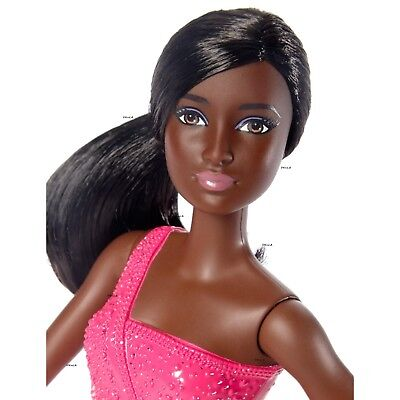 NEW Barbie African American Ice Skater Doll
