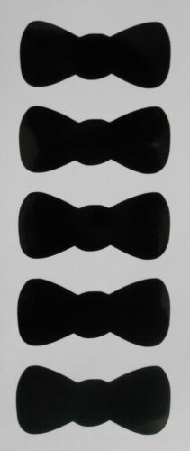 Bow Tie Stickers Ideal for Crafting Glasses Mugs Craft Sweet Cones