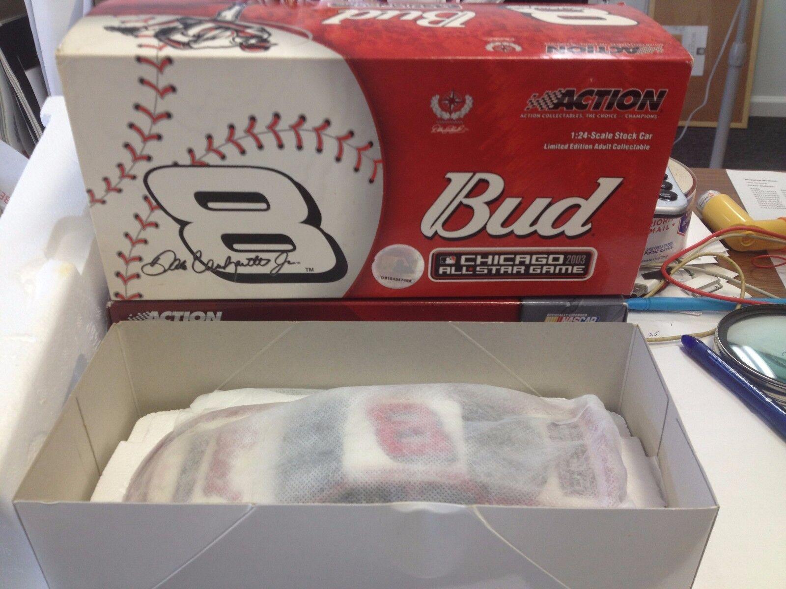 Action 1 24 NASCAR Dale Earnhardt Jr. Budweiser     MLB All-Star Game 2003 074b0f