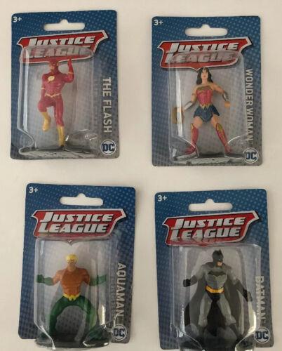 """Lot de 5 NEW IN BOX MATTEL DC Justice League 3/"""" Mini Figures livraison gratuite"""