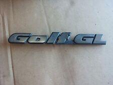 VW GOLF MK2 LATE TYPE REAR BOOT GOLF GL BADGE EMBLEM 200x23mm 191853687L