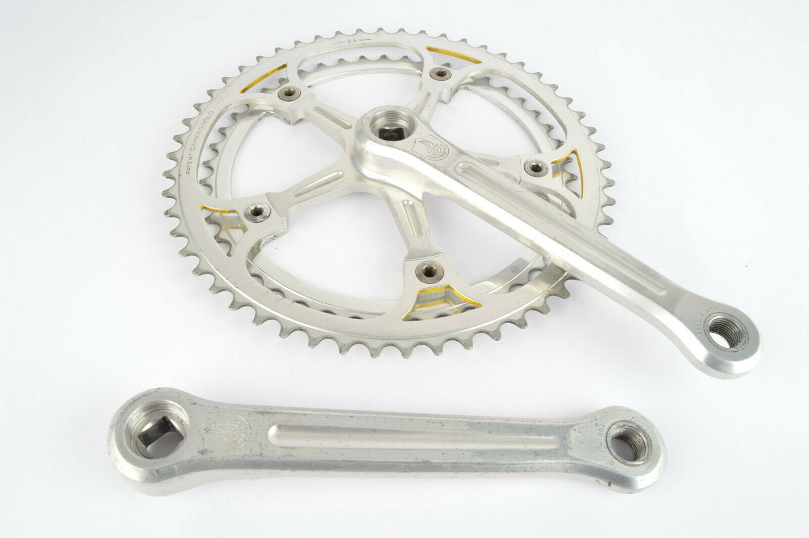 Campagnolo Super Record  A Crankset with 46 54 teeth and 170mm length