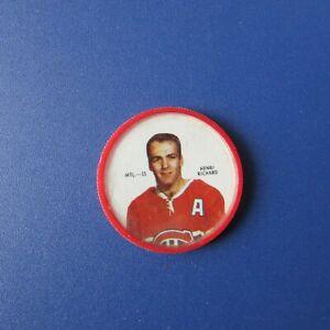 HENRI-RICHARD-1968-69-Shirriff-coin-MTL-15-Montreal-Canadiens-1969-68-69