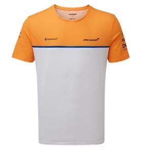 McLaren F1 2020 Mens Team T-Shirt White