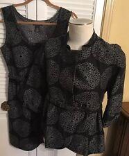 Vivienne Tam Sheath Dress & Jacket Separates Dressy Sz 6 Jacket Sz 8