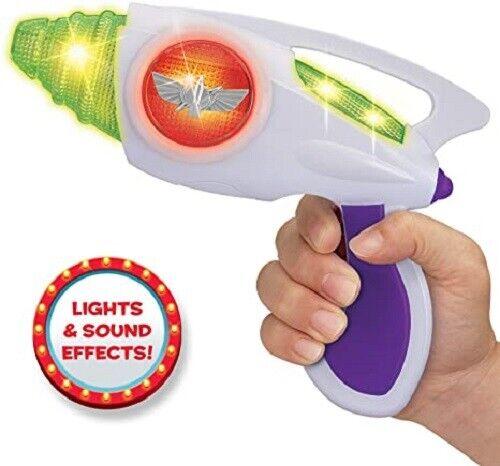 Disney Toy Story 4 Buzz Lightyear Infinity Blaster W//Lights /& Sound New Nib