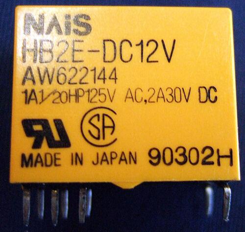 NAIS HB2E-DC12V AW622144