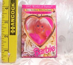 Barbie Doll 1997 World Of Fashion Booklet Book Mini Clothes Catalogue