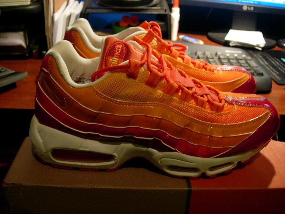 Nike Air Max 95, Human Torch, homme 10 609048 681 Chaussures de sport pour hommes et femmes