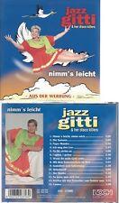 CD--JAZZ GITTI  & HER DISCO KILLERS--NIMM'S LEICHT