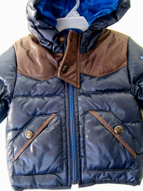 13a33637c Buy Catimini Infant Boys Urban Navy Padded Winter Coat Ce42022 12 ...