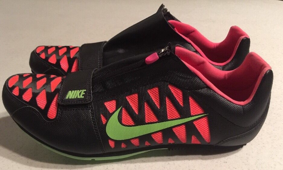Seasonal clearance sale Nike Zoom LJ 4 Long Jump IV Cleats Spikes Black/Hyper Punch 415339-036 US 12.5