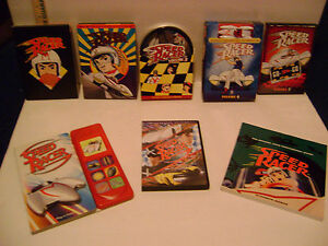 BULK-LOT-Speed-Racer-Limited-Collector-039-s-Edition-Vol-1-5-MOVIE-2-BOOKS-amp-MORE