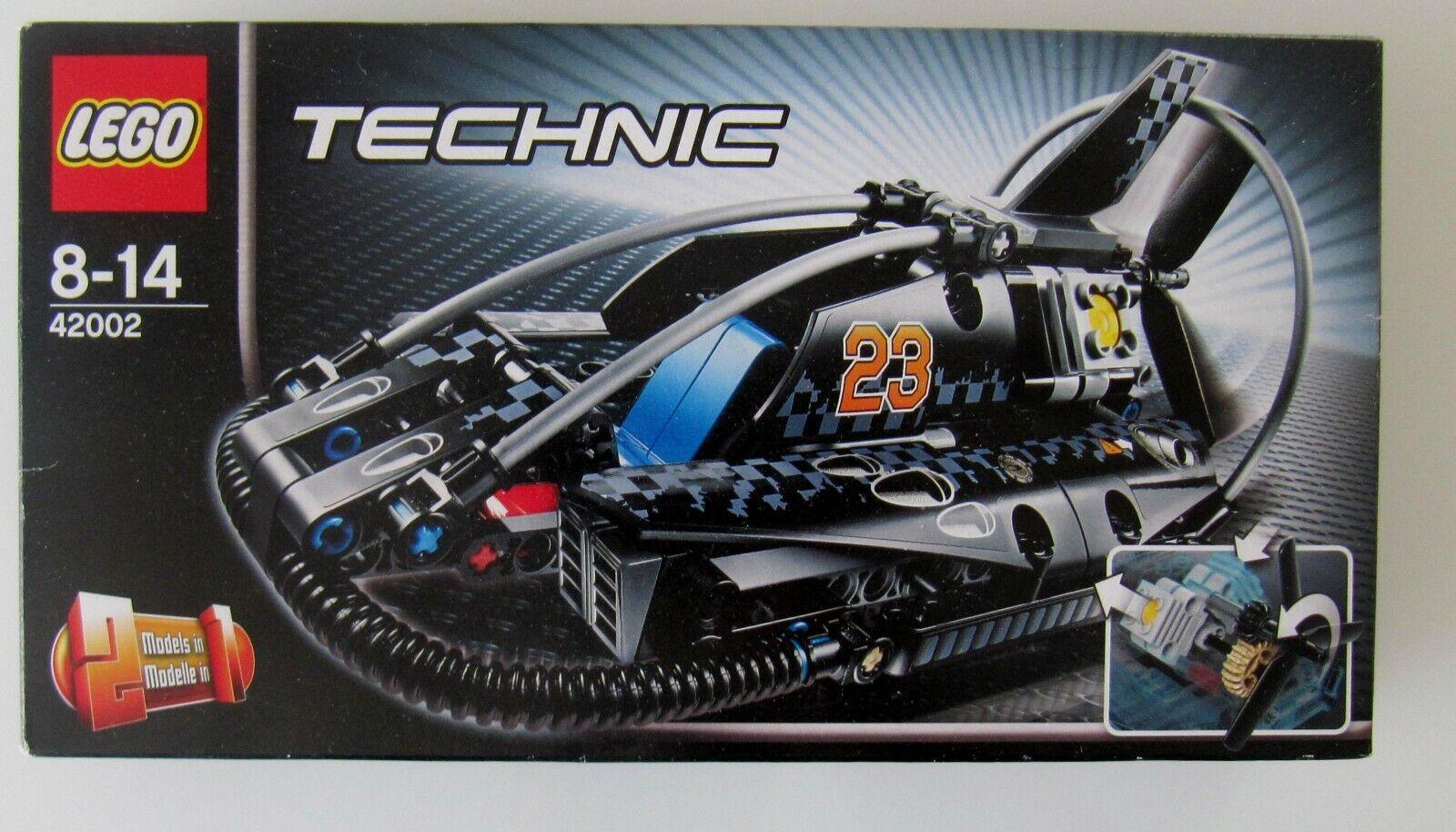 Nuevo con embalaje original  lego Technic 42002  dos modelos en un