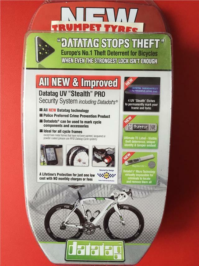 Datatag Ciclismo Bicicletta Sicurezza Anti Furto Stealth pro Sistema Blocco