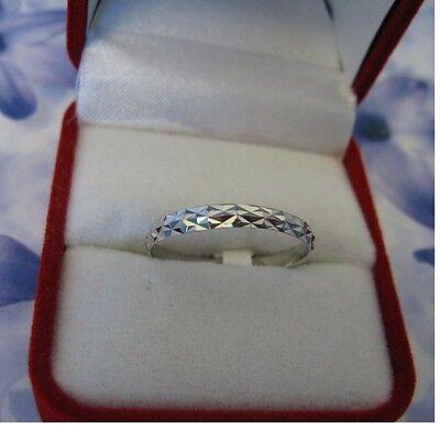 Alliance T54 Lapidée Aspect Diamanté Argent Massif 925//000 Rhodié Dolly-Bijoux