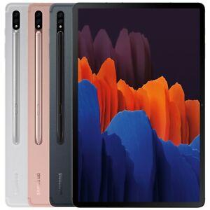 "Samsung Galaxy Tab S7 SM-T875 128GB 6GB RAM (Factory Unlocked) 11.0"" Wi-Fi + 4G"