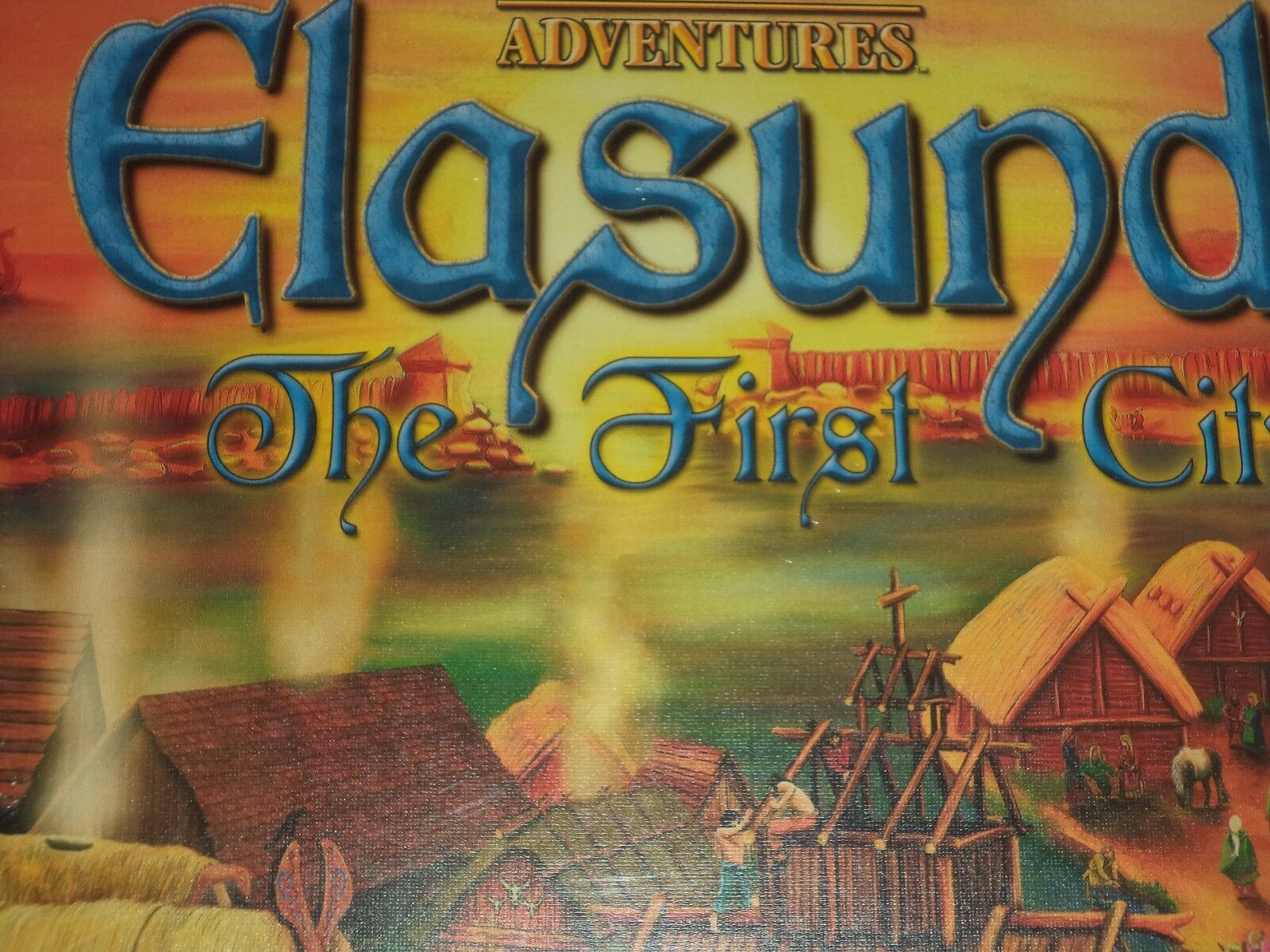 Elasund The First City - Board Game New  Settlers of Catan Adventures