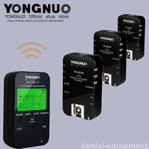 Yongnuo-1-8000-YN622N-TX-3PCS-YN-622N-TTL-flash-trigger-with-2-cables-for-Nikon
