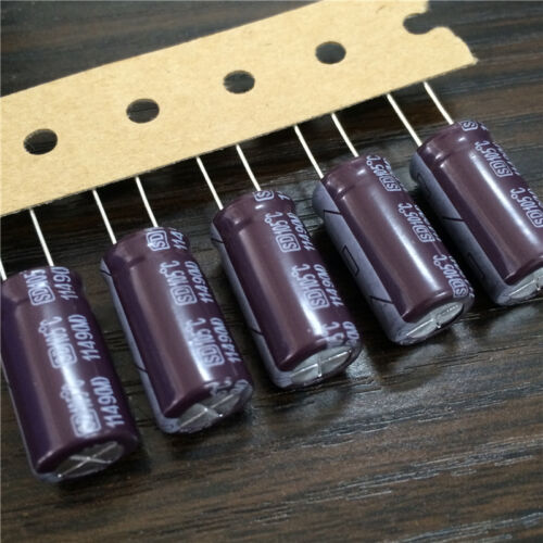 50pcs 330uF 63V Su/'scon SD 10x20mm 63V330uF Low Z High Frequency capacitor
