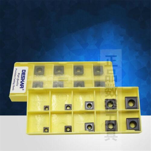 1pack DESKAR SPMG090408-TG LF6018 Carbide Inserts for stainless steel