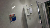 5 Light Grey Marble Wall Panels Bathrooms Showers Wet Walls Pvc Cladding