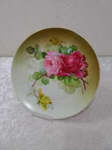 Design Porzellan Zierteller  - Vintage - Rosendekor - 24 cm