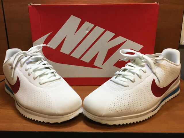 "sneakers for cheap 87227 29157 Nike Cortez Ultra Moire ""Forrest Gump"" White/Varsity Red/Blue 845013-100  Size 11"