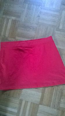 Damenrock , Rot , Gr.l Schrumpffrei