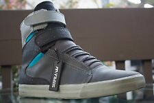 Supra Shoes Society II US Size 11, Euro Size 45 Black/GRAY/BLUE WITH TAG