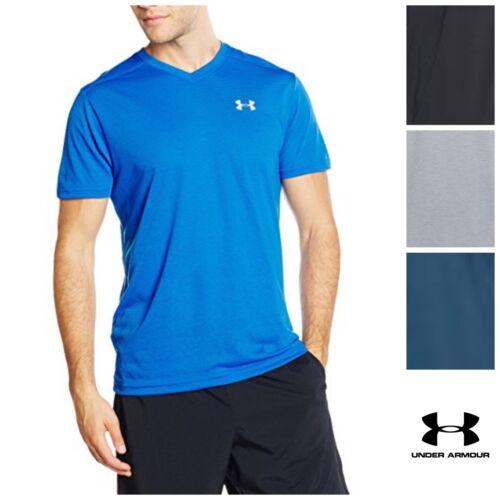 Under Armour Men/'s Threadborne Streaker V-Neck T-Shirt variety colors//sizes H31