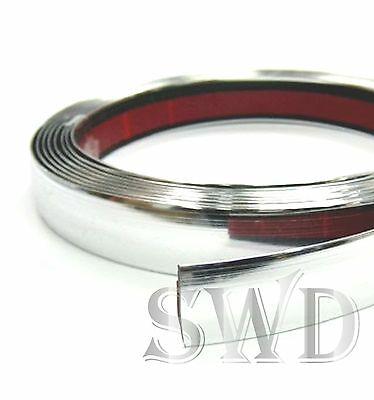 car DIY Chrome styling detail strip moulding self adhesive