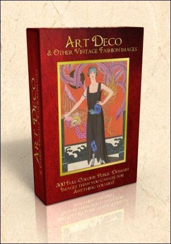 Vintage Fashions inc Art Deco - 500 public domain pics on DVD inc George Barbier