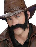 Brown Civil War Wild West General Burnside Self Adhesive Beard