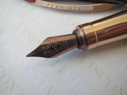 Visconti Van Gogh 125th Anniv Gaugin/'s Armchair rose Au-pl trim fount pen FINE