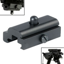 1xHarris Style Rifle Bipod Sling Swivel Stud Adapter Weaver/Picatinny Rail Mount