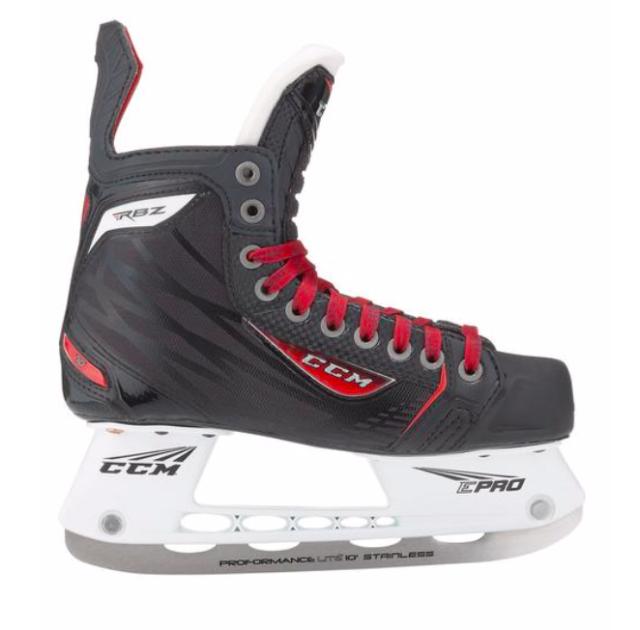 New CCM RBZ 70 Ice Hockey Skates Junior Size 5 0 D Width Kids