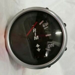 Details about GPC070A Faria Boat Trim Gauge Euro Series OMC Johnson  Evinrude Outboard Engine