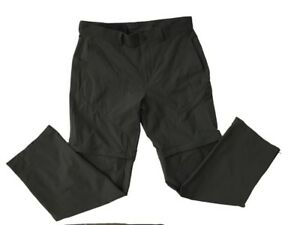 THE-NORTH-FACE-MEN-039-S-CASUAL-PANTS-SIZE-34-GRAY-2-In-1-Shorts-Pants