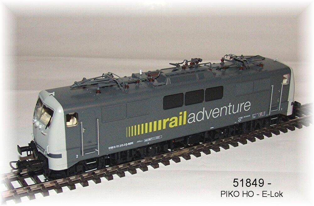 Piko 51849 - Locomotiva Elettrica -br 111- 111- 111- Rail Adventure  Ac- Mfx Geeignet- 23b482