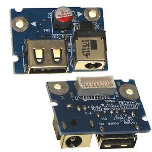 Ac Dc Connector Power Jack Usb Port Board For Lenovo Ibm