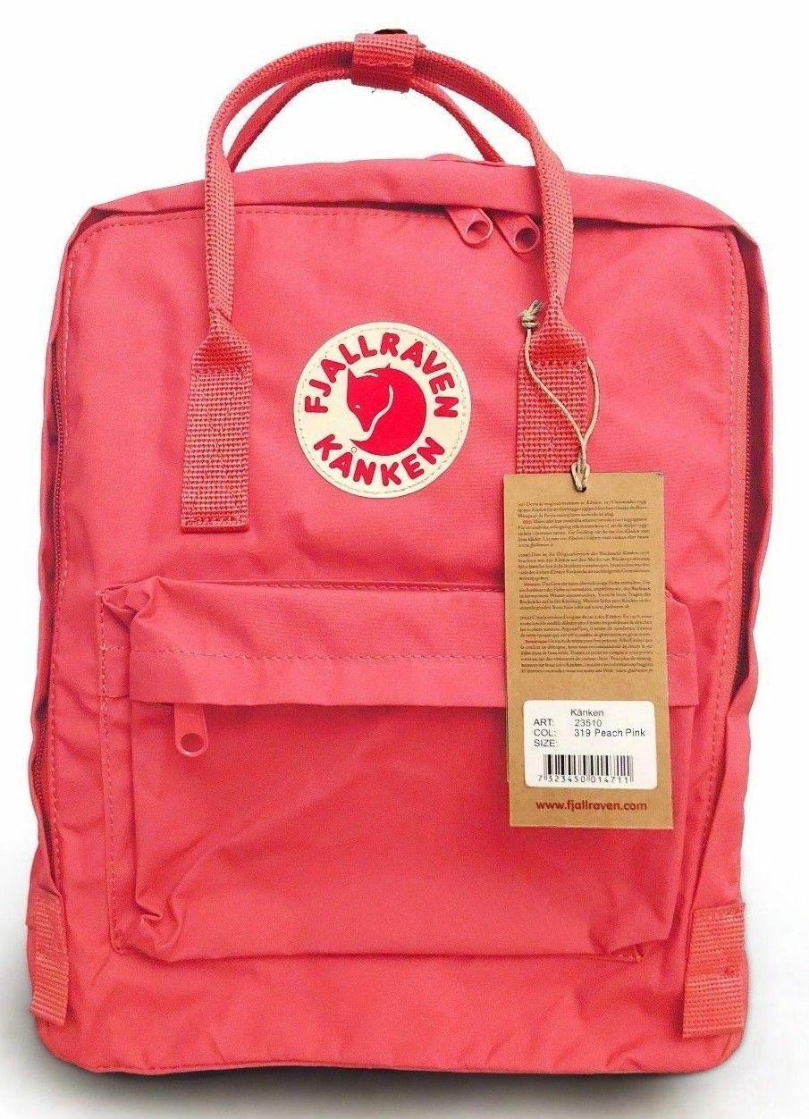FJALLRAVEN KANKEN Backpack Review (Peach Pink)