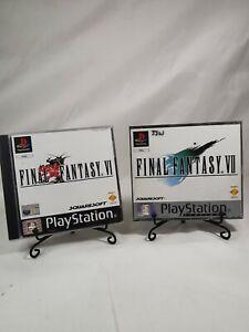 Final-Fantasy-VI-6-VII-7-Bundle-komplett-alle-Discs-ps1-Playstation-Spiele