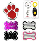 Personalized Custom Engraved Dog Tags for Pets Cat Name Tags Engraved FREE Gift