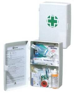 ARMADIETTO Cassetta Medica Kit Di Pronto Soccorso Con Allegato 2 Pieno