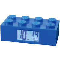 Lego Alarm Clock Blue - Child's Room Building Brick Blocks Toys on sale