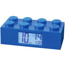 LEGO ALARM CLOCK BLUE - Child's Room Building Brick Blocks Toys