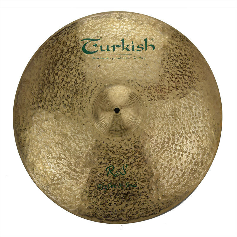 TURKISH CYMBALS cymbale R&S Rhythm & Soul 20  Ride 1739g